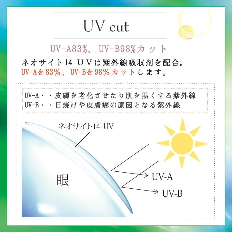 ネオサイト14UV紫外線カット